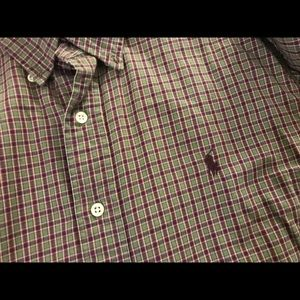 Ralph Lauren men's classic fit plaid shirt XL